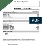 Nitrosulfato Amonico 26