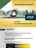 Fluent Mdm 14.5 l08 Udf