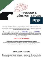 Gêneros e Tipologia Textual