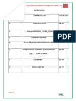 138708652 a Study on Ratio Analysis at Hmt Watches Ltd Bangalore