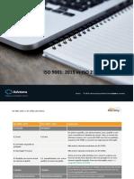 Excelente Modelo Em Word Iso 9001 2015 vs Iso 27001 2013 Matrix en.en.Pt