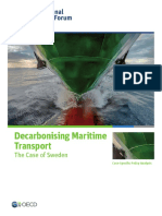Decarbonising Maritime Transport Sweden