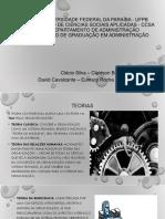 T. O. - SEMINÁRIO - TEORIA DA CONTINGÊNCIA.pptx