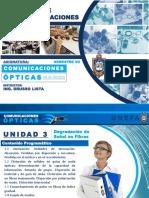 UNIDAD 3 - PARTE 1-2-3 - Comunicaciones Opticas 1-2018