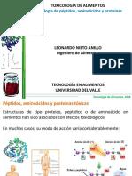 Clase 6. Toxicologia de Proteínas Tóxicas, Aminoacidos