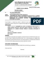 Informe 018 - Plan de Respuesta de Trabajo