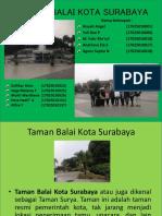 Ppt Taman Balai Kota Surabaya