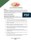 8- Contractor & Subcontractor Policy