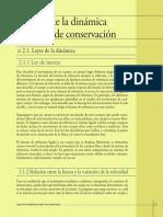 03 - Cap. 2 - Leyes de La Dinámica y Leyes de Conservación