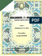 Poslanikov namaz, nacin obavljanja - B.Baz - Abdulaziz bin Baz.pdf