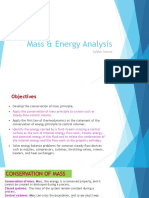 Chapter 3 - Mass & Energy Analysis