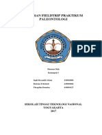 Laporan Fieldtrip Praktikum Paleontologi