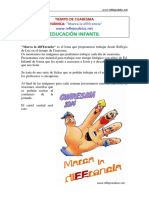 01_Marca La DiFErencia_Educacion Infantil
