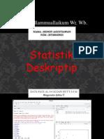 03071181419022 Rendy Agustiawan Geostatistik-1