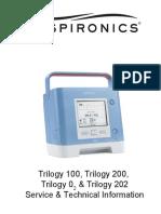 Respironics Trilogy Service Manual