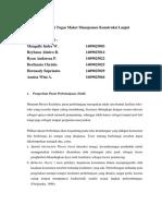 Deskripsi Tugas Maket Manajemen Konstruksi Lanjut