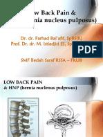 50.Hnp & Low Back Pain