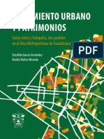 Crecimiento urbano y patrimonio. Santa Anita y Toluquilla, dos pueblos en el Área Metropolitana de Guadalajara