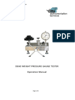 Dead Weight Tester Manual