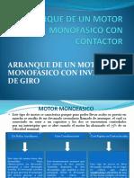 Arranque de Un Motor Monofasico Con Contactor