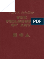 f w j Schelling the Philosophy of Art