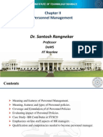 Chapter 2-Personnel Mgmt and Chapter3 HR Environment