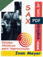 Ivan Meyer - Sax - Estudos Tecnicos Para Improvisacao