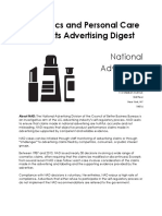 Cosmetics Claims Digest February 2016