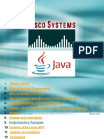 Java Cisco