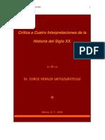 critica a Cuatro Interpretaciones de la Historia del Siglo XX blogs