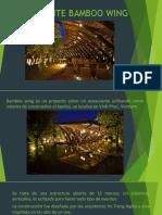 Presentacion Estructura de Bambu