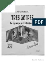 Tres Golpes Lenguaje Afrolatino y Étnico Cuadernillo 1