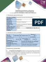 Guía de Actividades y Rúbrica de Evaluación - Paso 1- Identificar Los Elementos Del Diseño Curricular en Matemáticas