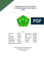 Kelompok 4 - Asuhan Keperawatan Prenatal IUFD