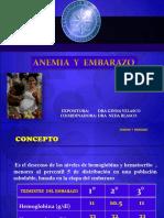 Anemias y Embarazo Sarmiento