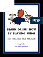 Learn Drums Play Songs