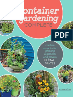 Container Gardening Complete Creative Projects for Growing Vegetables and Flowers in Small Spaces