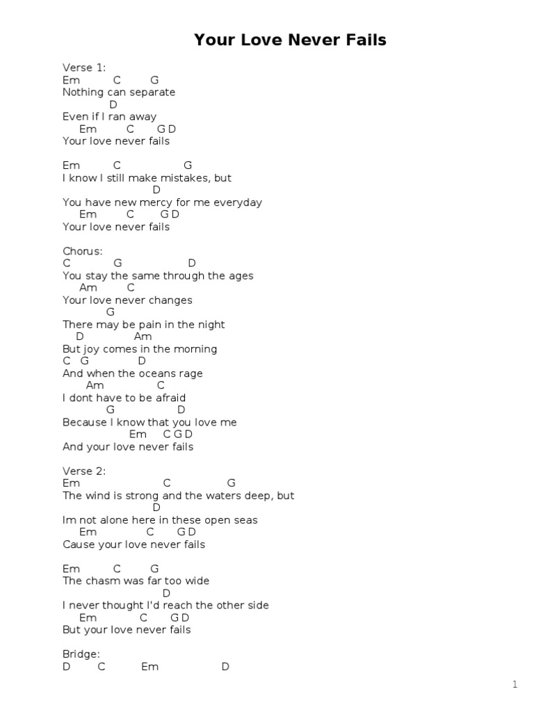 Songbook Song Structure Lamb Of God