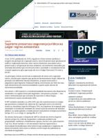 ConJur - Wilson Belchior_ STF Traz Segurança Jurídica Sobre Regras Ambientais