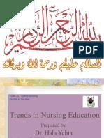 Dr. Hala Trends in Nursing