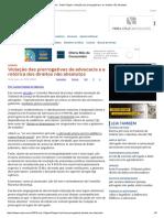 ConJur - Gamil Föppel_ Violação Das Prerrogativas e Os Direitos Não Absolutos