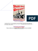 Sheikh Ahmad's Dream