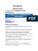 U1 Asignment - Competence and Performance.docx