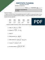 Examen 1 Unidad Probabilidad