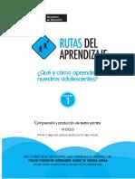 Fasciculo Secundaria Comunicacion VI 201444