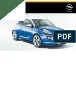 Opel Adam Manual Do Proprietário P