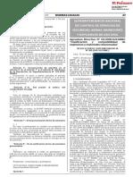 RS 309-2018-SUCAMEN Clasificación de Explosivos