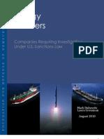 FDD Report on Iran's Energy Partners