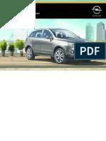 Opel Antara Manuale Del Proprietario