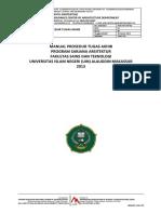 Manual Prosedur Tugas Akhir